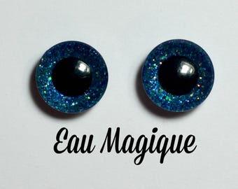 Eyechips 13 mm - color magic water Pullip size models