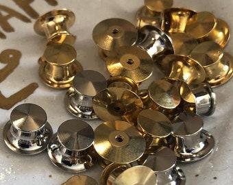 Locking Backs for Pin Badges