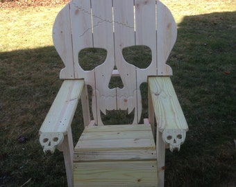 Skull Chair Pattern Plans Onlyadirondack Chair