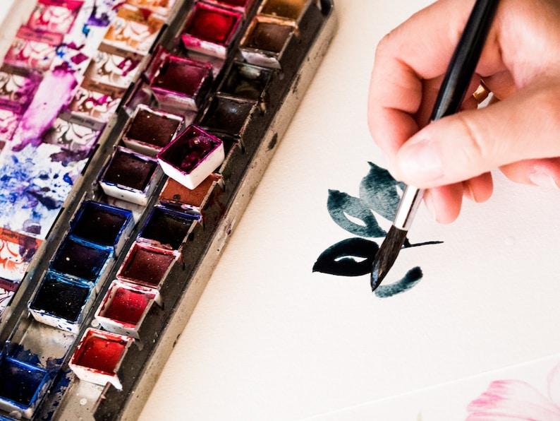 Renesans Watercolor paint Half Pan. Professional Artist grade. image 1