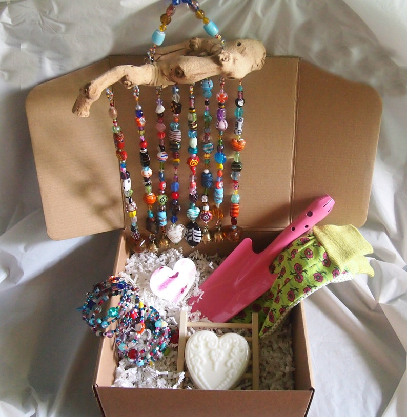Suncatcher Gift Set  Thinking of You Gift Box Thank You Gift image 0