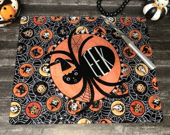 SHIPS AFTER 11/1/2021 Personalized Glass Recipe Cutting Board Johanna Parker EEK Spider