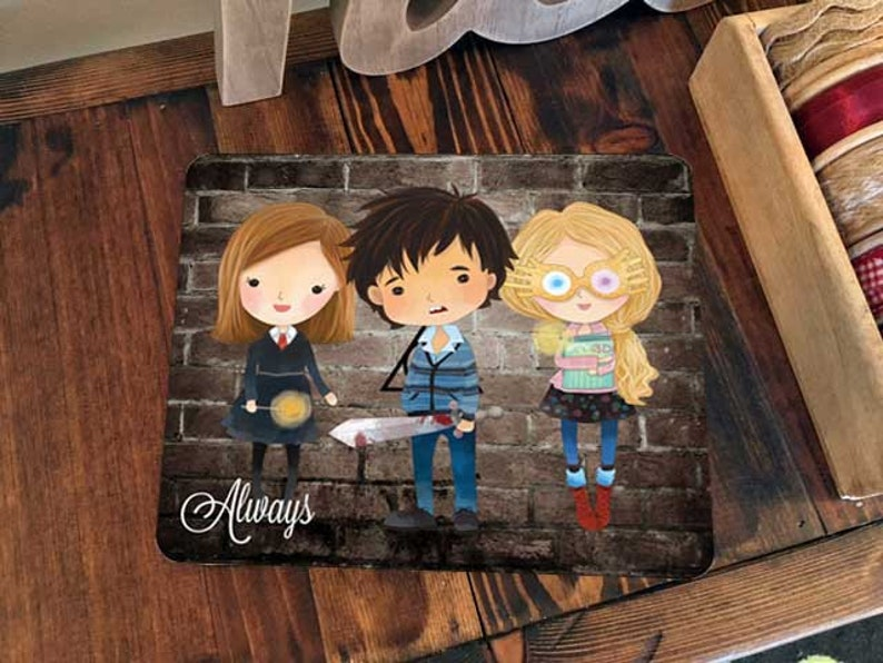 Mouse pad Mousepad Office Desk Accessories Dad Husband College image 0