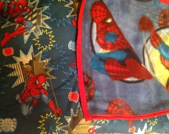 Handmade Spiderman Blanket