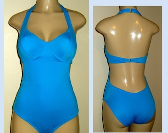 684e79a4afa7b Underwire swimsuits one pieces support bathing suits womens halter cutaway  one-pieces bigger bra sizes swimwear custom swimsuits plus sizes