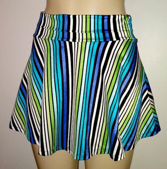 ce0d1a48b8 Swim skirts for women high waisted skirt bottom flared skirt