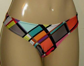 Timeless Swimwear Bikini Bottoms. Plain swimsuit. Women's. Low rise. Fuller rear.Moderate coverage.Simple.Custom made.Ladies.Bathing suits.