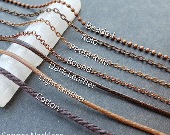 ADD ON - Copper Colored Chains