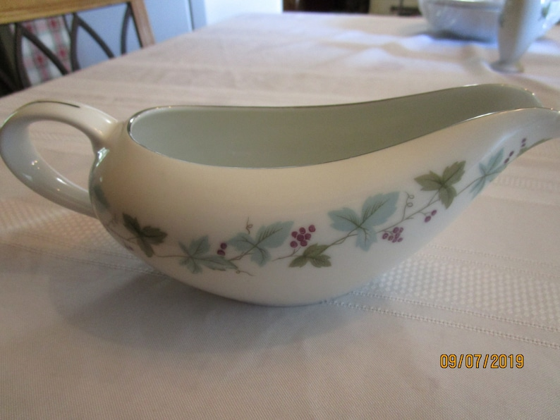 Vintage Fine China made in Japan MS 6701 Gravy Boat