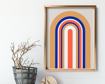 Retro No. 1 Art Print