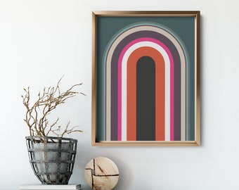 Retro No. 2 Art Print