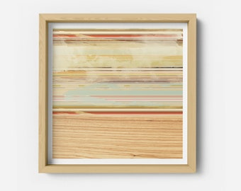 Stripes on Maple Art Print