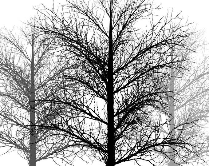 Trees No. 2 - mltpl lamp shade