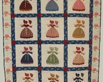 Sunbonnet Sue - Southern Belle Quilt Pattern
