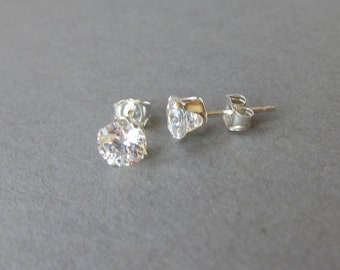 Fake Diamond Earrings Etsy