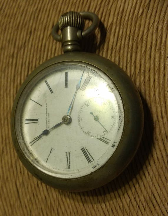 Antique 1800's Rockford Watch Company Illinois Sil