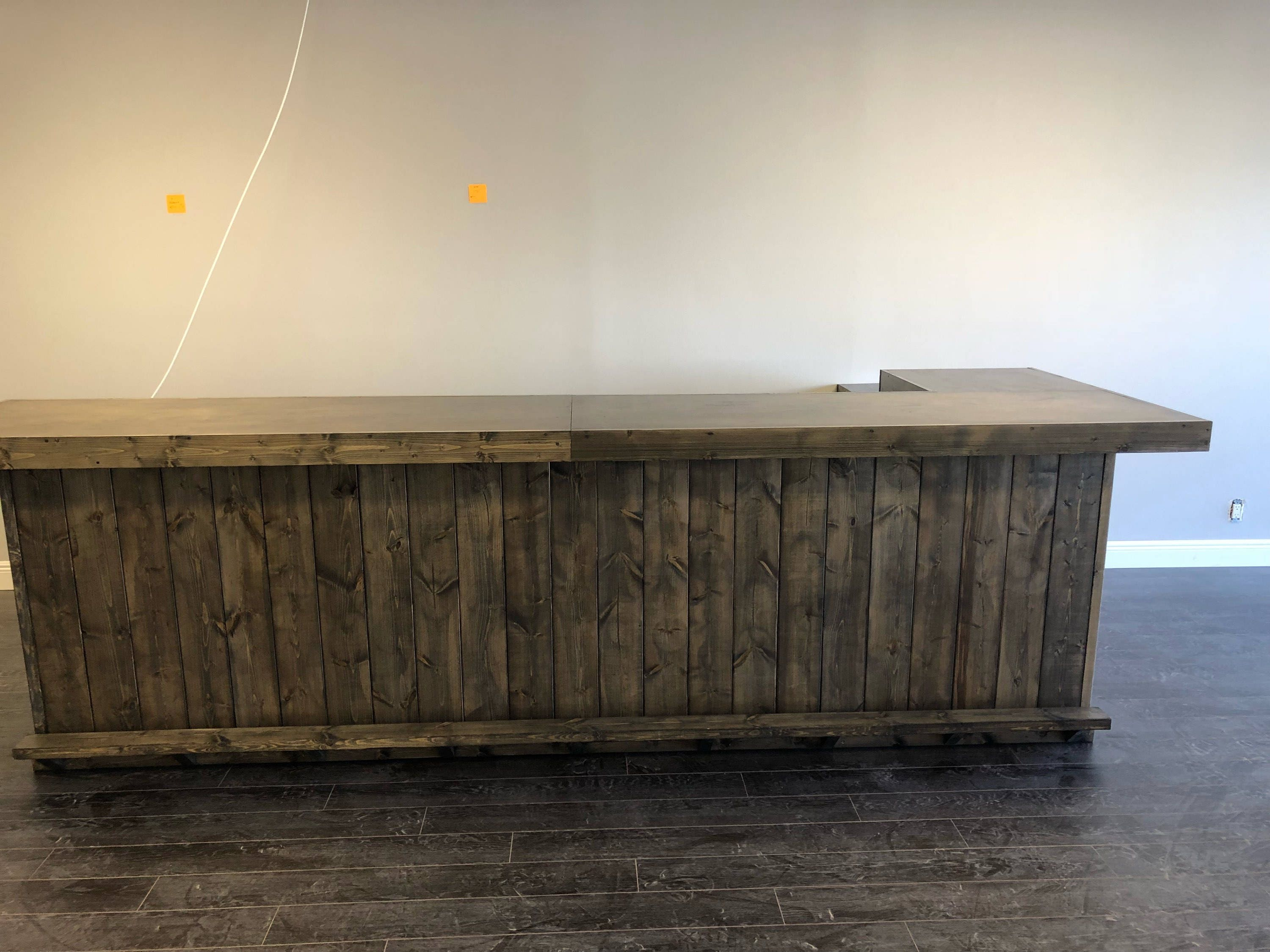 The Ebony Lounge 12 X 6 Rustic Barn Wood Or Pallet