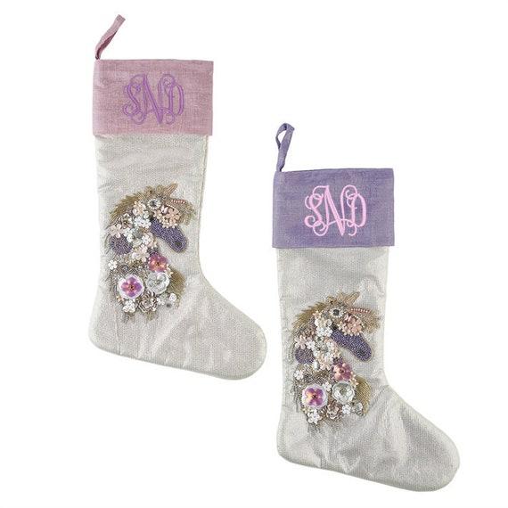 image 0 - Purple Christmas Stockings