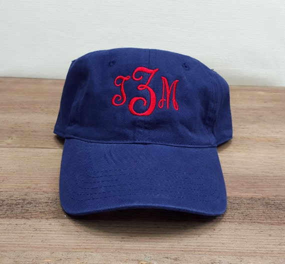 f9e2ace2ced Ladies Monogrammed Baseball Cap Multiple Colors