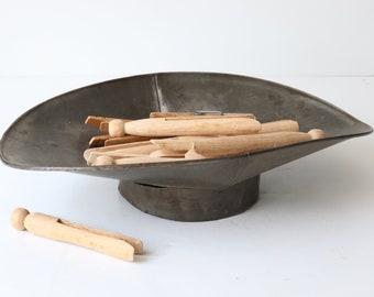 Vintage Metal Scale Tray, Scale Scoop Pan, Bean Scale Pan, Country Store Balance, Scale Pan, Farmhouse Kitchen, Vintage Balance Pan
