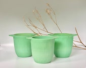 Jadeite Sugar Bowls Jards in the quot Jane Ray quot pattern. Different price choices available.