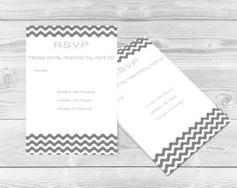 Printable rsvp card | Etsy