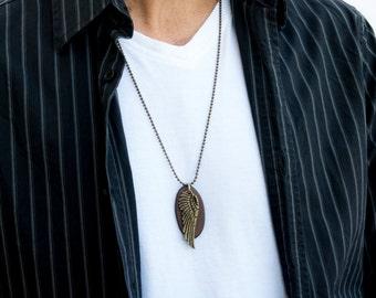 Men's Necklace - Men's Necklace - Men's Jewelry - Men's Gift - Boyfriend Gift - Husband Gift - Guys Jewelry - Guys Necklace