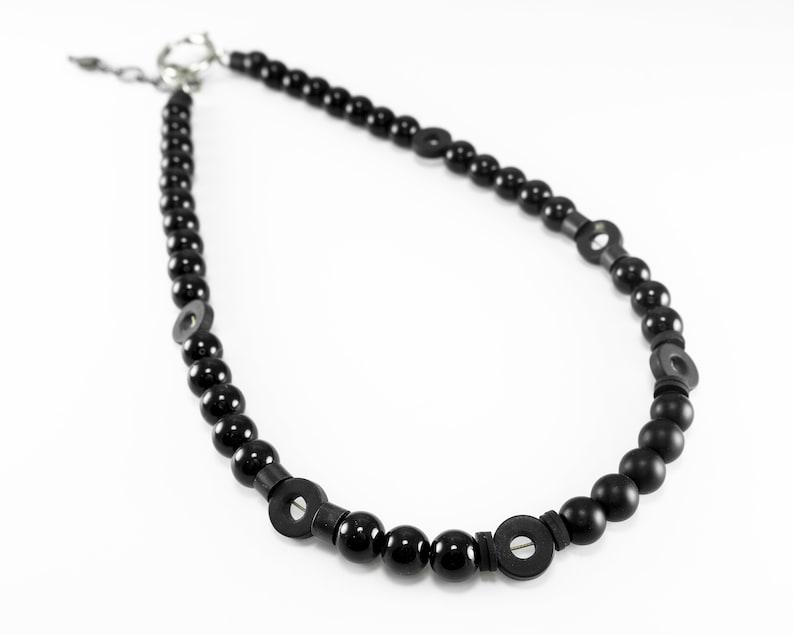 Men/'s Gift Men/'s Jewelry Men/'s Necklace Men/'s Beaded Necklace Boyfriend Gift Husband Gift Guys Jewelry Men/'s Choker Necklace