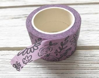 Floral Washi Tape