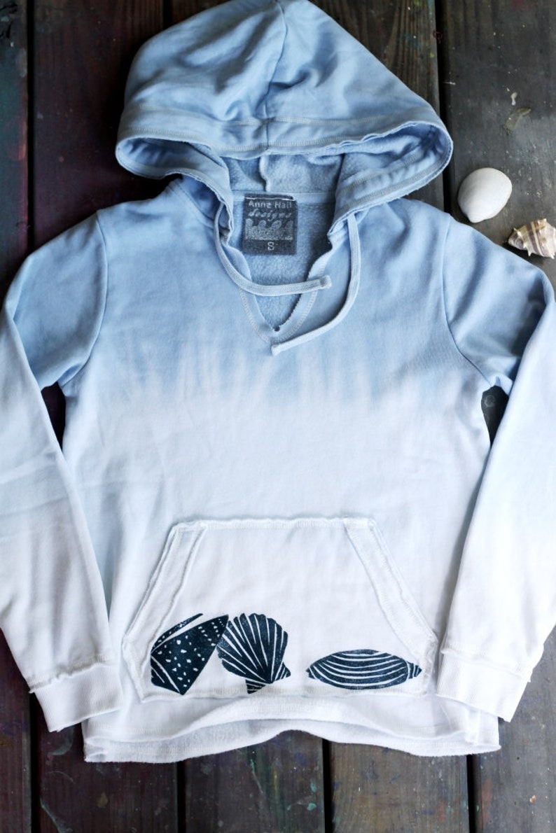 Ombre Seashell Hoodie  Small image 0