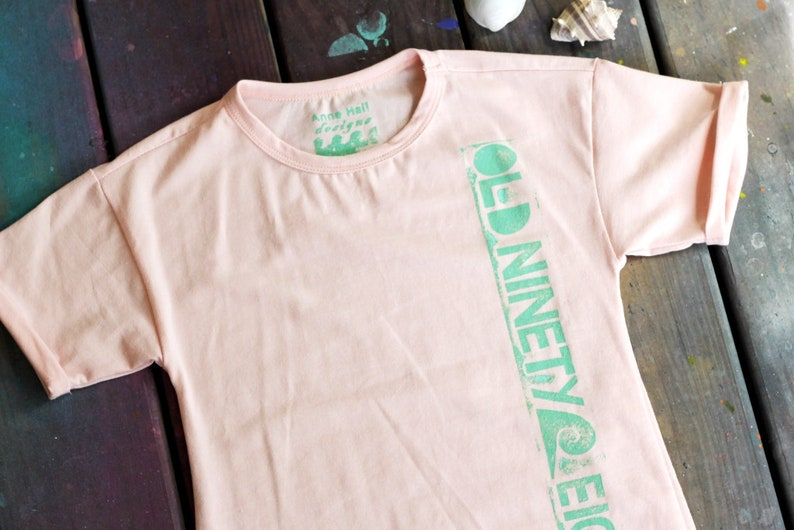 Hand Painted/Printed Old Ninety-Eight Youth T-shirt Dress image 0