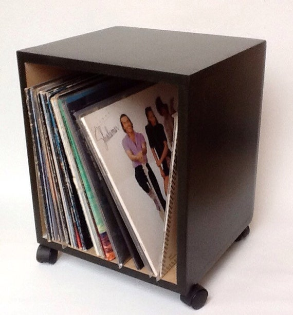 Box Dj Coffee Table For Vinyl Record Storage Etsy