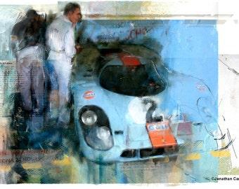 Porsche 917K: Limited edition print.