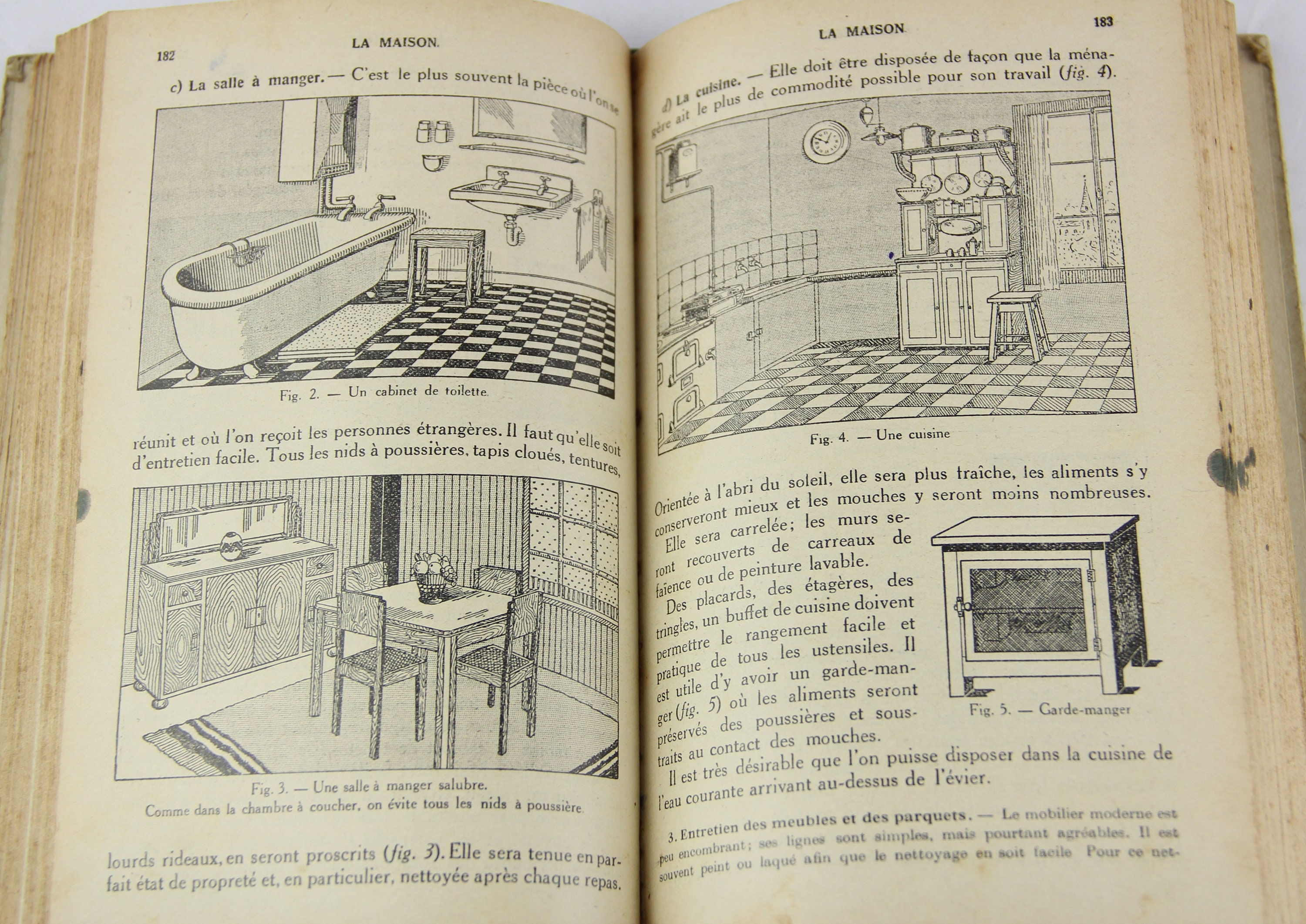 Vintage French Illustrated General Sciences Reference Book Etsy