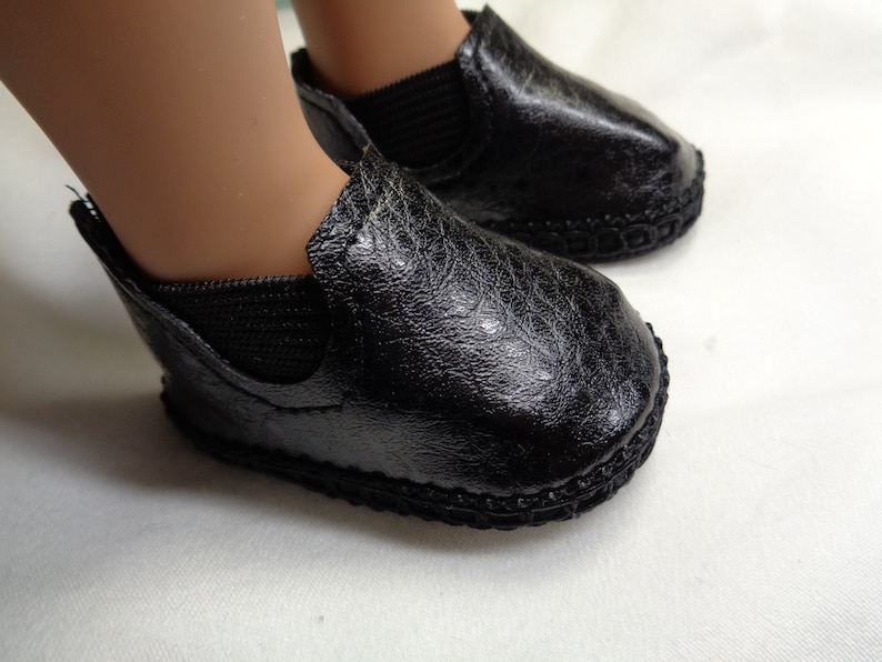 9fc5d1db0ba8d Black Ankle Boots-- Doll boots-- -Fits A Girl For All Time Dolls