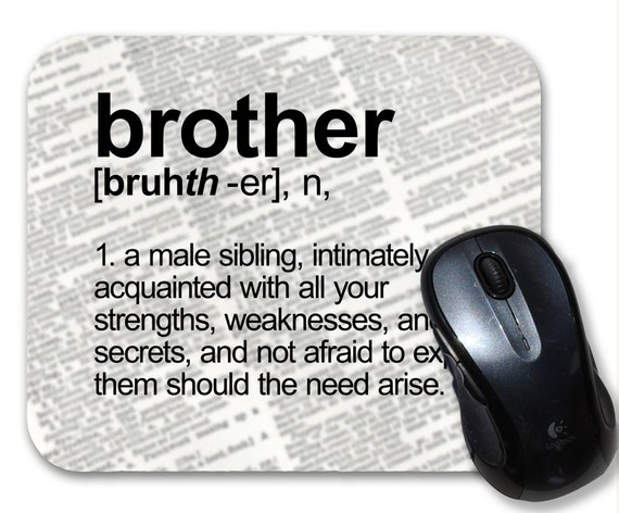 Mouse mat nique your brother-in-law parody unusual funny original gift