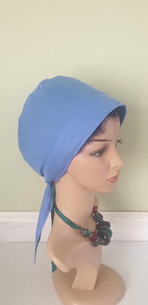 chef hat light weight vet nurse  cap,medical cap,surgical cap,paediatric cap Satin lined ankara Scrub  Cap,doctor cap  Theatre  cap