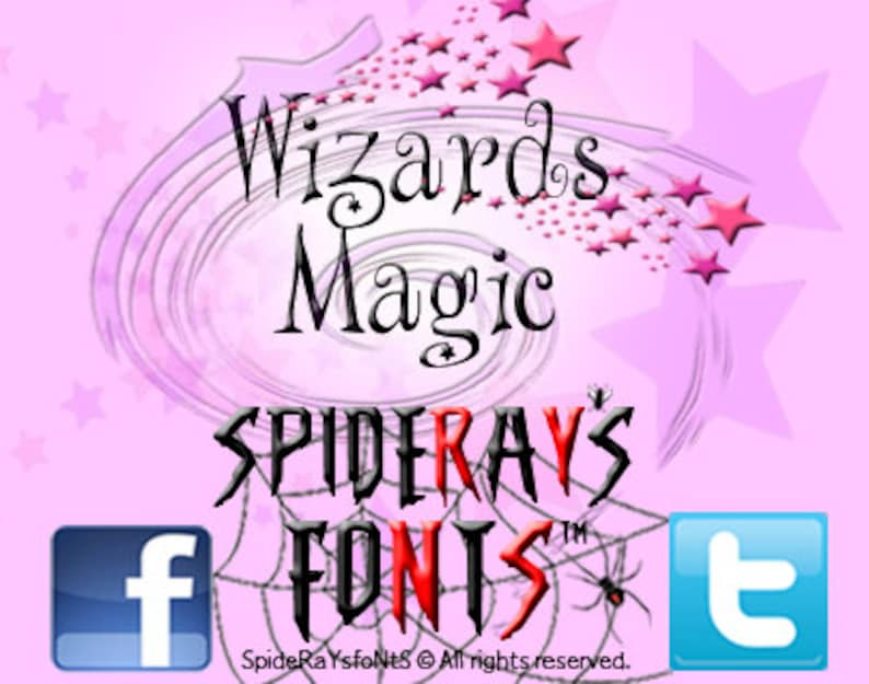 Wizards Magic Commercial Font image 0