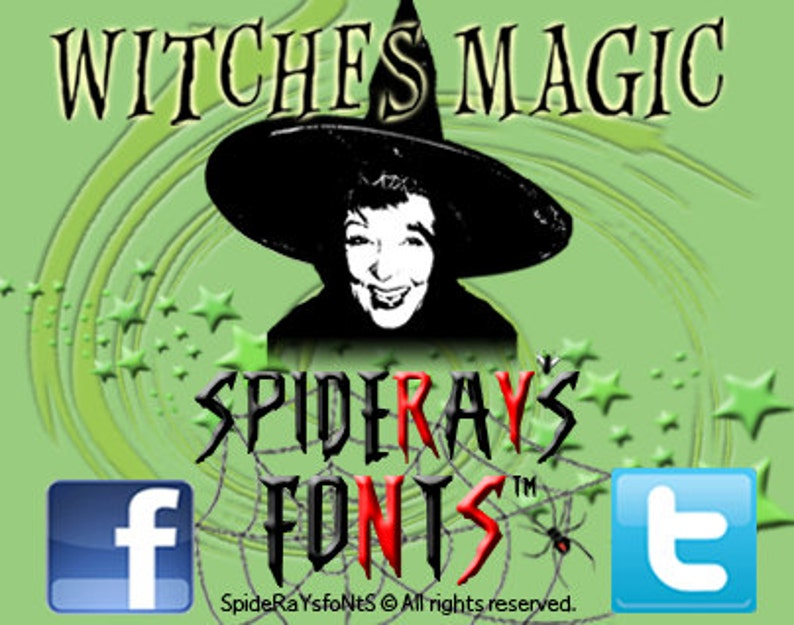 Witches Magic Commercial Font image 0