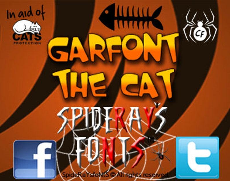 GARFONT the CAT Fan Font image 0