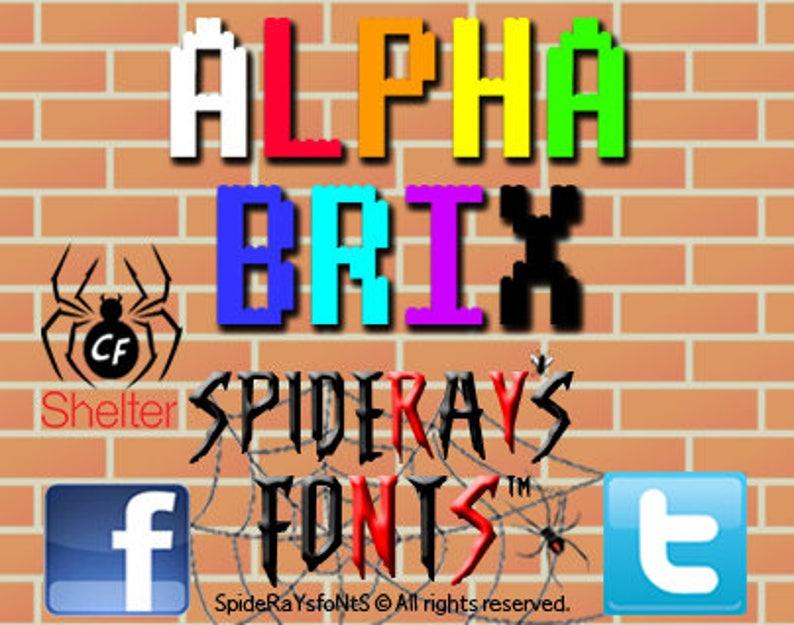 ALPHABRIX Fan Font image 0