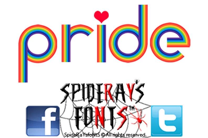 PRIDE Commercial Font image 0