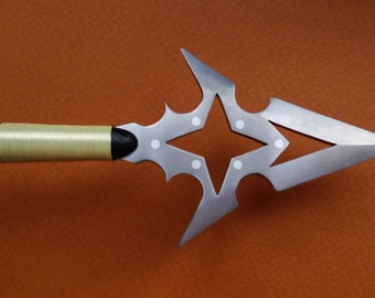 Titanium Shuriken Arrowhead