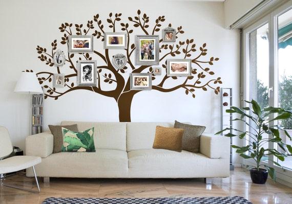 Wandtattoo Familie Baum Wandtattoo Baum Aufkleber Gross Etsy