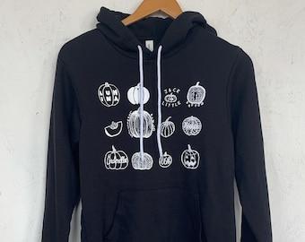 Pumpkin Sweatshirt, Halloween Sweatshirt, Hoodie