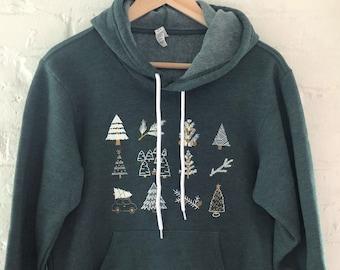Christmas hoodie | Etsy