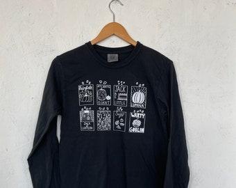 Pumpkin Seeds T-Shirt, Halloween Shirt, Halloween Long Sleeve, Pumpkin Shirt