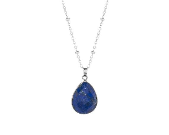 Kumari Lapis lazuli Necklace | Sterling Silver