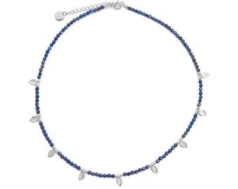 Blue Forest Lapis lazuli choker | Zamak