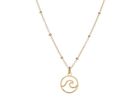Ola mini   necklace Gold Bath